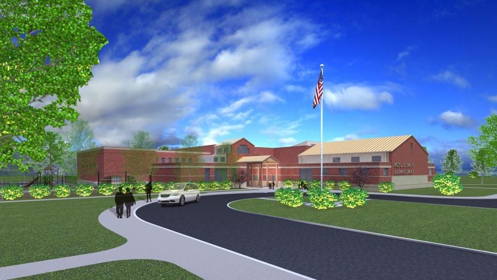 rendering new school