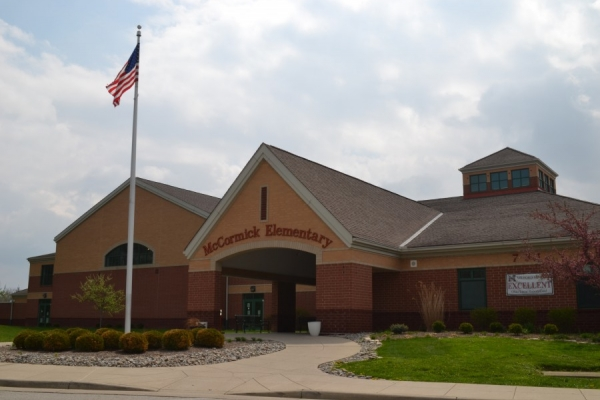 exterior McCormick Elementary