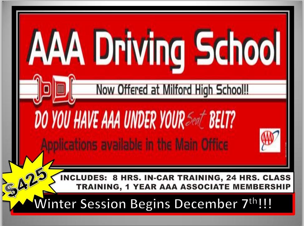 AAA Driving School logo