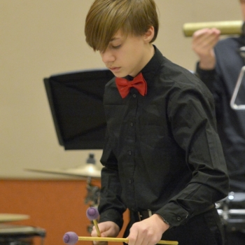 Milford JHS Percussion Ensemble Performs at OMEA Conference