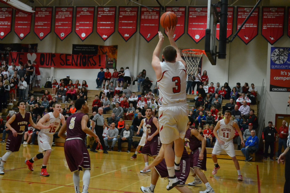 Milford HS basketball