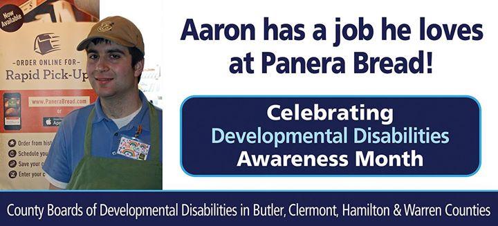 Aaron at Panera Break
